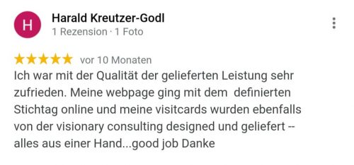 visionary consulting_Kundenstimme 1